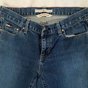 Tommy Hilfiger low rise flare jeans